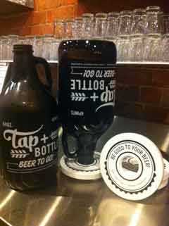 Beer Growler Collar - Tap & Bottle