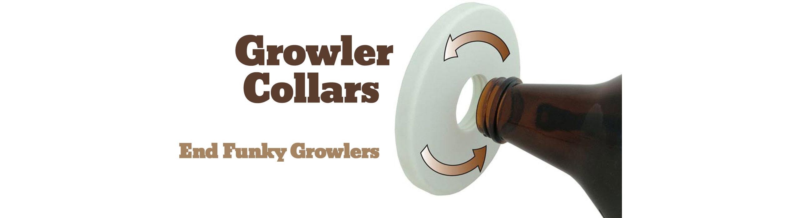 Beer Growler Collar